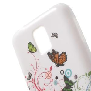 Softy gelový obal na Samsung Galaxy S5 mini - magičtí motýlci - 5