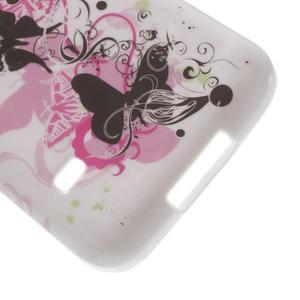 Softy gelový obal na Samsung Galaxy S5 mini - motýlci - 5