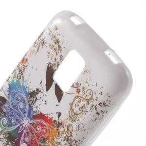 Softy gelový obal na Samsung Galaxy S5 mini - barevný motýl - 5