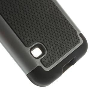 Odolný kryt 2v1 na mobil Samsung Galaxy S5 mini - šedý - 5