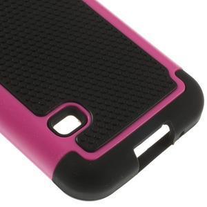 Odolný kryt 2v1 na mobil Samsung Galaxy S5 mini - rose - 5
