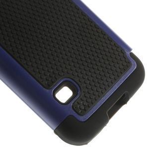 Odolný kryt 2v1 na mobil Samsung Galaxy S5 mini - tmavěmodrý - 5