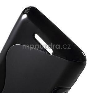S-line gelový obal pro Sony Xperia E4g - černý - 5