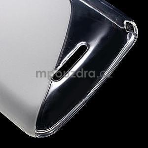 S-line gelový obal pro Sony Xperia E4g - transparentní - 5
