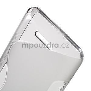 S-line gelový obal pro Sony Xperia E4g - šedý - 5