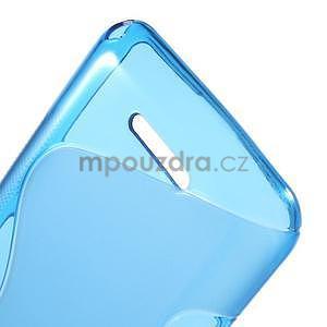 S-line gelový obal pro Sony Xperia E4g - modrý - 5