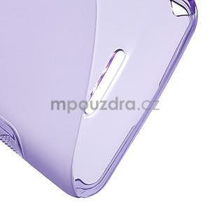 S-line gelový obal pro Sony Xperia E4g - fialový - 5