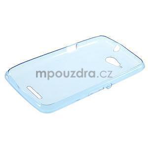 Ultra tenký gelový obal na Sony Xperia E4g - modrý - 5