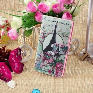 Standy peněženkové pouzdro Sony Xperia M2 Aqua - Eiffelova věž - 5