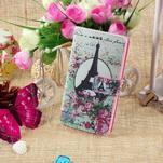 Standy peněženkové pouzdro Sony Xperia M2 Aqua - Eiffelova věž - 5/6