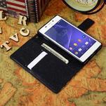 Standy peněženkové pouzdro Sony Xperia M2 Aqua - UK vlajka - 5/5