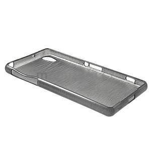 Broušený gelový obal na Sony Xperia Z2 - černý - 5