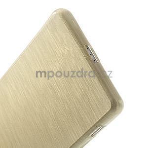 Broušený gelový obal na Sony Xperia Z2 - zlatý - 5