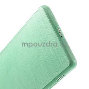 Broušený gelový obal na Sony Xperia Z2 - azurový - 5