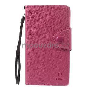 Rose peněženkové pouzdro na Sony Xperia Z3 - 5