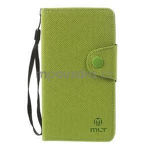 Zelené peněženkové pouzdro na Sony Xperia Z3 - 5