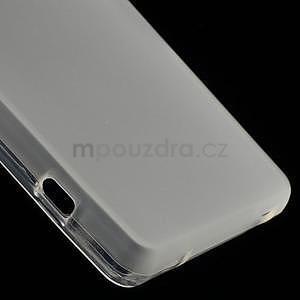 Transparentní matný gelový obal na Sony Xperia Z3 Compact - 5