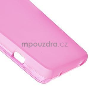 Rose matný gelový obal na Sony Xperia Z3 Compact - 5