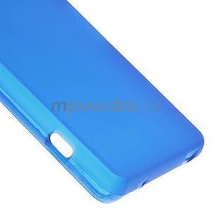 Modrý matný gelový obal na Sony Xperia Z3 Compact - 5