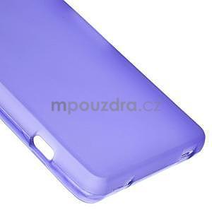 Fialový matný gelový obal na Sony Xperia Z3 Compact - 5