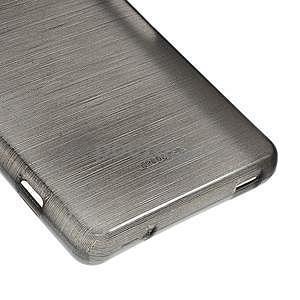 Broušený obal na Sony Xperia Z3 Compact D5803 - černý - 5