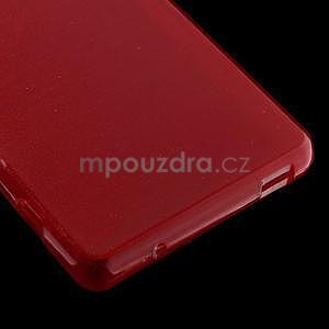 Broušený obal na Sony Xperia Z3 Compact D5803 - červený - 5