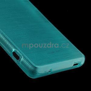 Broušený obal na Sony Xperia Z3 Compact D5803 - tyrkysový - 5