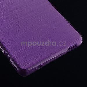 Broušený obal na Sony Xperia Z3 Compact D5803 - fialový - 5