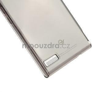 Gelové pouzdro na Huawei Ascend P6 - šedé - 5