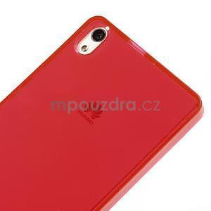 Gelové pouzdro na Huawei Ascend P6 - červené - 5