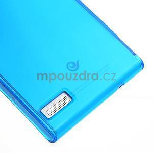 Gelové pouzdro na Huawei Ascend P6 - modré - 5