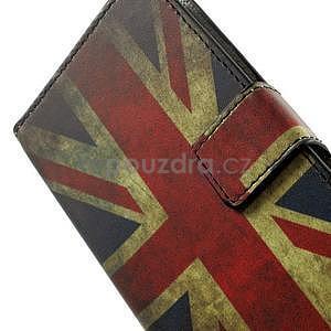 Peněženkové pouzdro na Huawei Ascend Y550 - UK vlajka - 5