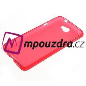Matný gelový obal na telefon Huawei Y5 II - červený - 5