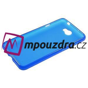 Matný gelový obal na telefon Huawei Y5 II - modrý - 5