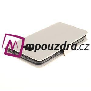 Dandelion PU kožené pouzdro na Huawei Y5 II - bílé - 5