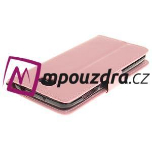 Dandelion PU kožené pouzdro na Huawei Y5 II - růžové - 5