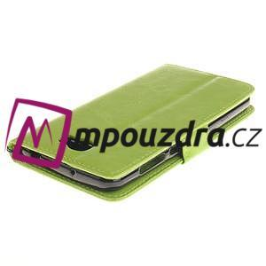 Dandelion PU kožené pouzdro na Huawei Y5 II - zelené - 5