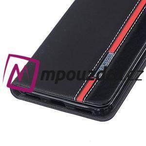 Klopové pouzdro na mobil Huawei Y6 II a Honor 5A - černé - 5