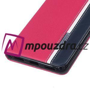 Klopové pouzdro na mobil Huawei Y6 II a Honor 5A - rose - 5