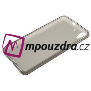 Matný gelový obal na Huawei Y6 II a Honor 5A - šedý - 5
