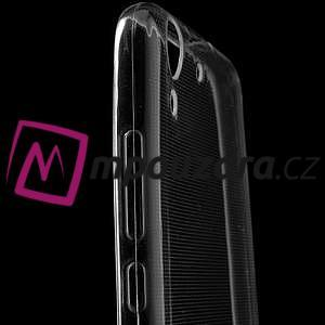 Superslim gelový obal na mobil Huawei Y6 II a Honor 5A - transparentní - 5