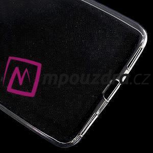 Ultratenký gelový obal na mobil Huawei Y6 II a Honor 5A - transparentní - 5