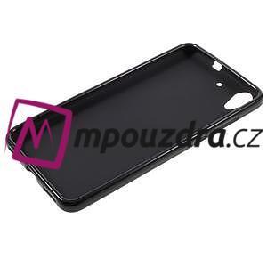 Matný gelový obal na Huawei Y6 II a Honor 5A - černý - 5