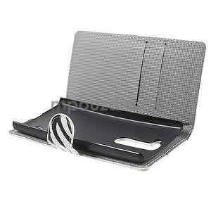 Pěněženkové pouzdro na LG G4c H525n - zebra - 5