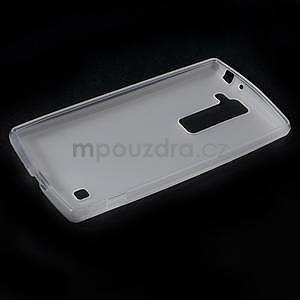 Matný gelový kryt na LG G4c H525n - bilý - 5