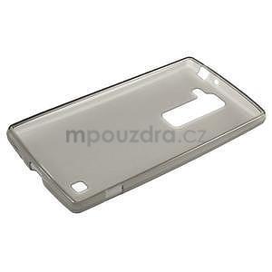 Matný gelový kryt na LG G4c H525n - šedý - 5