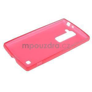Matný gelový kryt na LG G4c H525n - červený - 5