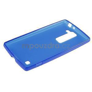 Matný gelový kryt na LG G4c H525n - modrý - 5
