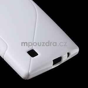 Bílý gelový obal S-line na LG G4c H525n - 5