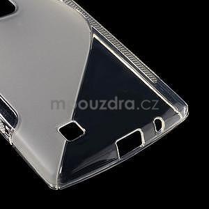 Transparentní gelový obal S-line na LG G4c H525n - 5